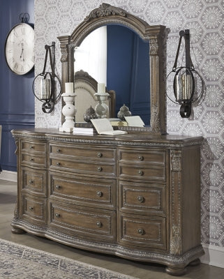 Charmond Signature Design by Ashley Dresser and Mirror