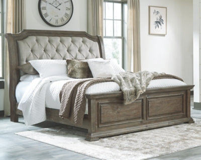 Wyndahl Signature Design by Ashley King Upholstered Panel Bed