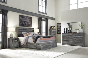 Baystorm Signature Design 5-Piece Bedroom Set with 4 Storage Drawers