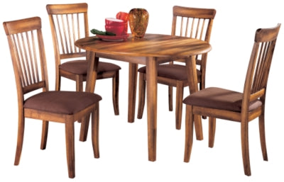 Berringer Ashley 5-Piece Dining Room Set with Drop Leaf Table