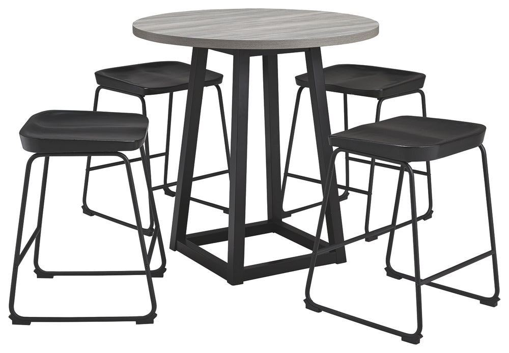 Showdell Signature Design 5-Piece Dining Room Package