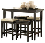 Kimonte Signature Design Dark Brown 5-Piece Dining Room Set