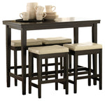 Kimonte Signature Design Counter Height 5-Piece Dining Room Set