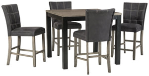 Dontally Benchcraft Counter Height5-Piece Dining Room Set