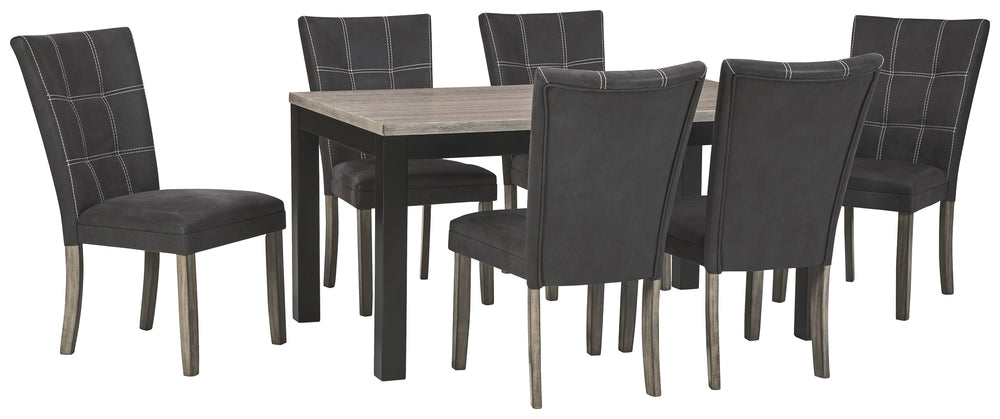 Dontally Benchcraft 7-Piece Dining Room Package