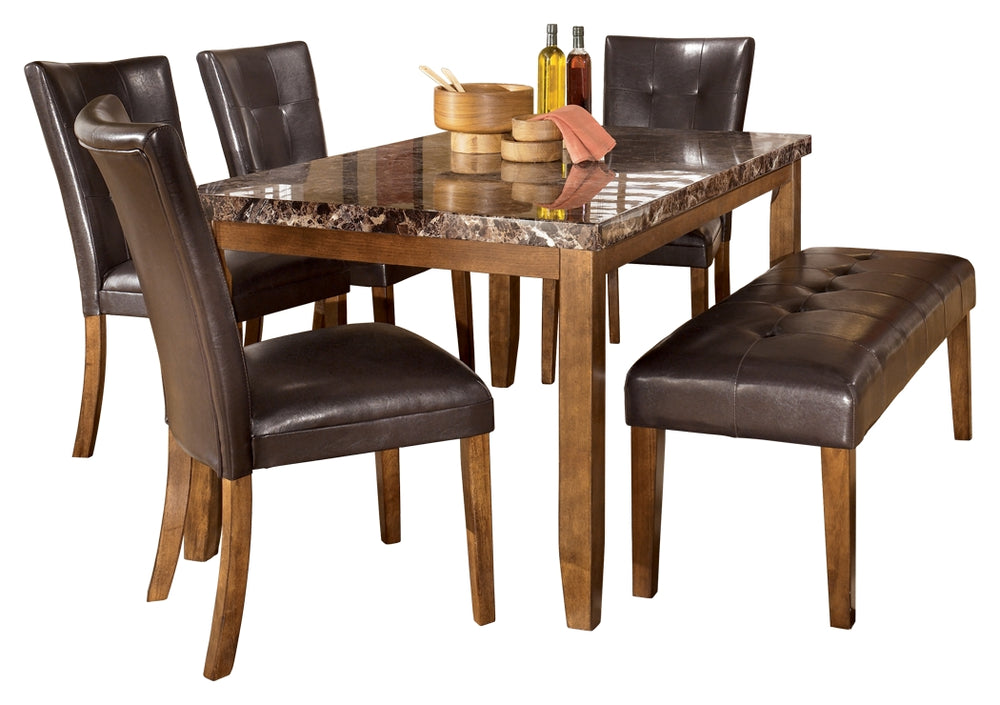 Lacey Signature Design 6-Piece Dining Room Package