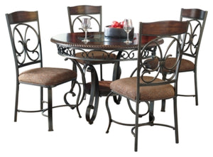 Load image into Gallery viewer, Glambrey Signature Design 5-Piece Dining Room Set