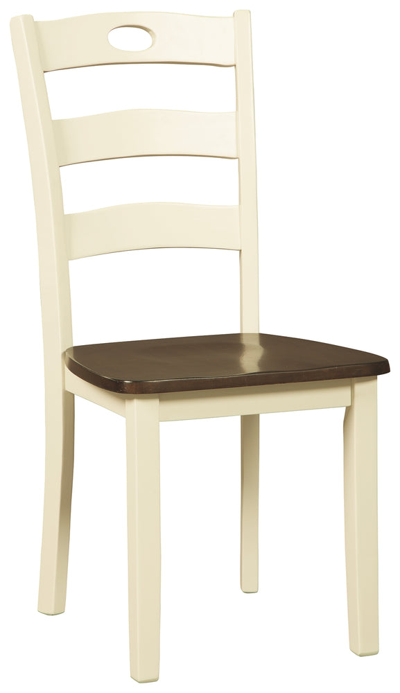 Woodanville Signature Design 2-Piece Dining Chair Package