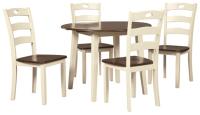 Woodanville Signature Design 5-Piece Dining Room Set
