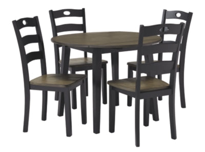 Load image into Gallery viewer, Froshburg Signature Design 5-Piece Dining Room Set