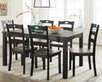 Froshburg Signature Design by Ashley Dining Table Set of 7