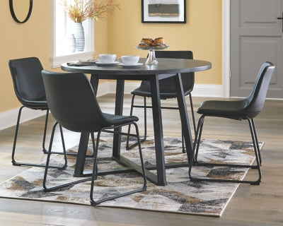 Centiar Signature Design by Ashley Round Dining Room Table