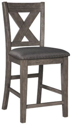 Caitbrook Signature Design by Ashley Upholstered Barstool 1CN
