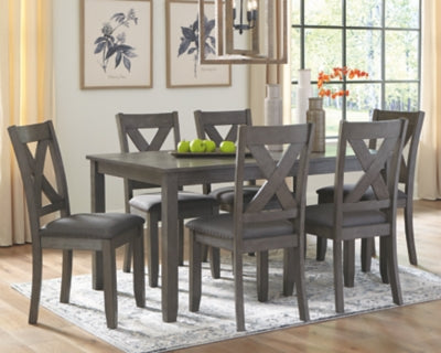 Caitbrook Signature Design by Ashley RECT DRM Table Set 7CN