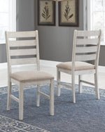 Skempton Signature Design by Ashley Dining UPH Side Chair 2CN
