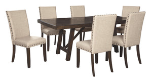 Rokane Signature Design 7-Piece Dining Room Package
