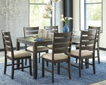 Rokane Signature Design by Ashley Dining Table Set of 7