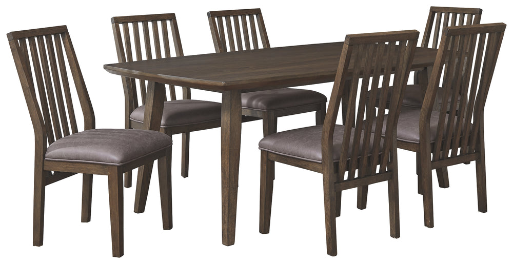 Kisper Signature Design 7-Piece Dining Room Package