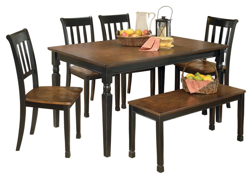 Owingsville Signature Design 6-Piece Dining Room Package