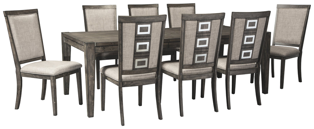Chadoni Signature Design 9-Piece Dining Room Package
