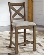 Moriville Signature Design by Ashley Barstool Set of 2