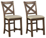 Moriville Signature Design 2-Piece Bar Stool Package