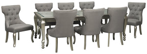 Coralayne Signature Design 9-Piece Dining Room Package