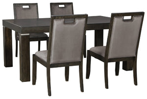 Load image into Gallery viewer, Hyndell Signature Design 5-Piece Dining Room Set