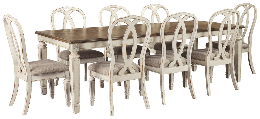 Realyn Signature Design 9-Piece Dining Room Package