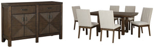 Dellbeck Millennium 8-Piece Dining Room Package