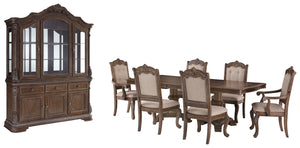 Load image into Gallery viewer, Charmond Signature Design 8-Piece Dining Room Package