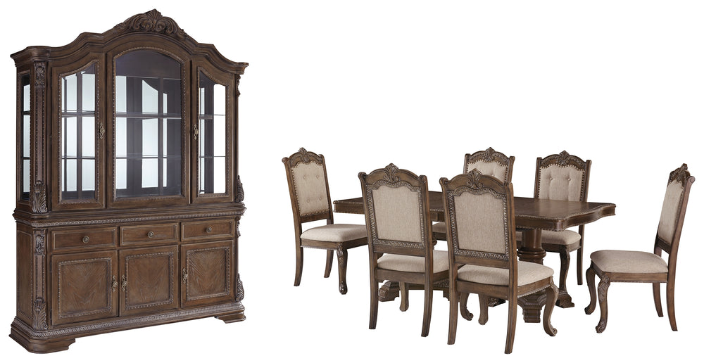 Charmond Signature Design 8-Piece Dining Room Package