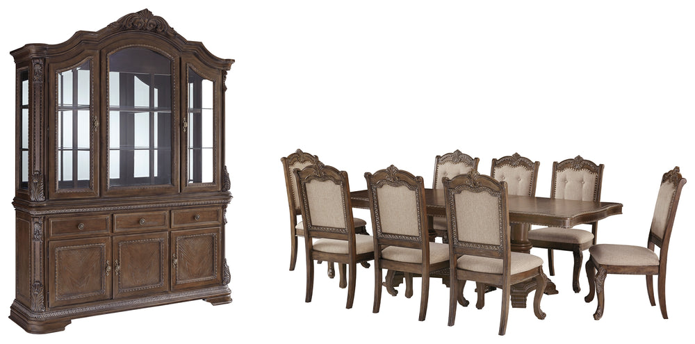 Charmond Signature Design 10-Piece Dining Room Package