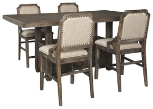Load image into Gallery viewer, Wyndahl Signature Design 5-Piece Dining Room Set