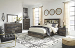 Drystan Panel Bookcase Signature Design 5-Piece Bedroom Set