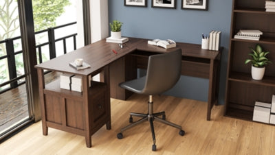 Camiburg Signature Design by Ashley 2-Piece Home Office Desk