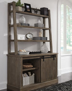 Luxenford Signature Design by Ashley Home Office Desk Hutch