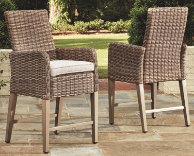 Beachcroft Signature Design by Ashley Barstool Set of 2