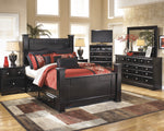 Shay Signature Design 5-Piece Bedroom Set with 2 Storage Drawers