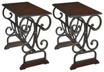 Braunsen Signature Design 2-Piece End Table Set