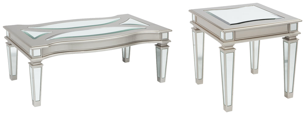 Tessani Signature Design 2-Piece Table Set