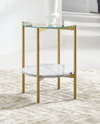 Wynora Signature Design by Ashley Round End Table