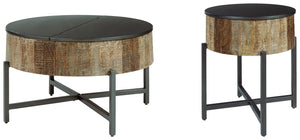 Load image into Gallery viewer, Nashbryn Signature Design 2-Piece Table Set