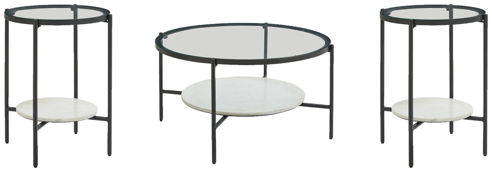 Zalany Signature Design 3-Piece Occasional Table Package