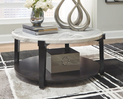 Janilly Signature Design by Ashley Round Cocktail Table