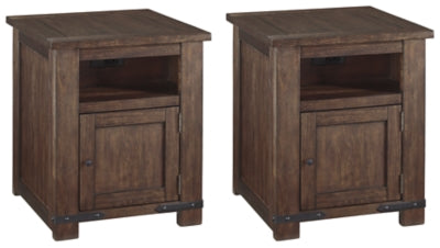 Budmore Signature Design 2-Piece End Table Set