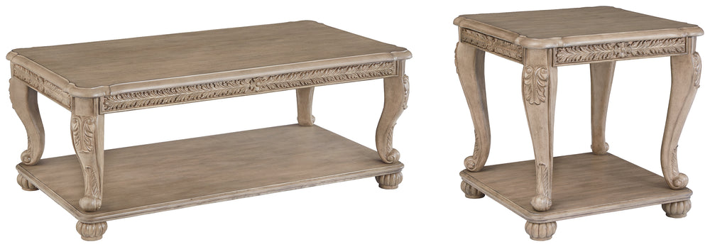 Kerston Signature Design 2-Piece Table Set