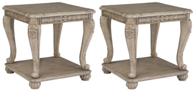 Kerston Signature Design 2-Piece End Table Set
