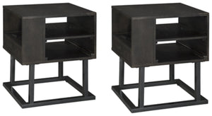 Load image into Gallery viewer, Airdon Signature Design 2-Piece End Table Set