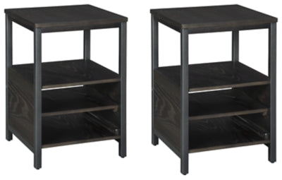 Load image into Gallery viewer, Airdon 2-Piece End Table Set